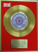 "Elvis Presley -  24 Carat Gold Disc 7"" - All Shook Up"